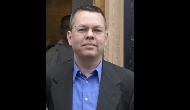 O αμερικανός πάστορας Άντριου Μπράνσον που δικάζεται στην Τουρκία