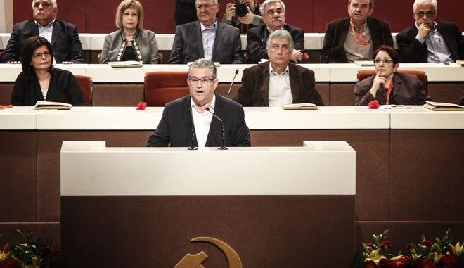 20ο Συνέδριο του ΚΚΕ (EUROKINISSI/ΣΩΤΗΡΗΣ ΔΗΜΗΤΡΟΠΟΥΛΟΣ)