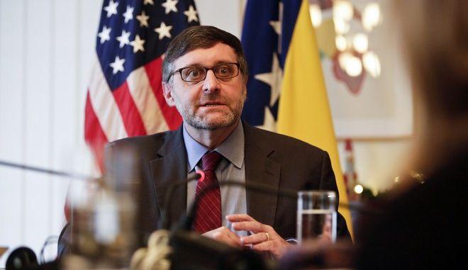 Ο ειδικός απεσταλμένος των ΗΠΑ στα δυτικά Βαλκάνια Μάθιου Πάλμερ
