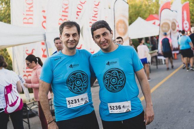 Από αριστερά: Υπουργός Τουρισμού κ. Χάρης Θεοχάρης, Υφυπουργός Πολιτισμού και Αθλητισμού κ. Λευτέρης Αυγενάκης