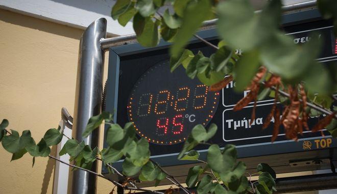 Καύσωνας στην Αθήνα