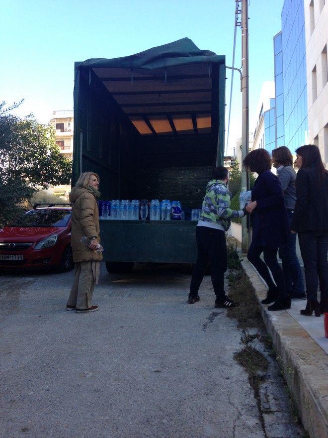 Τεράστια η ανταπόκριση του κοινού στο κάλεσμα για βοήθεια στη Μάνδρα