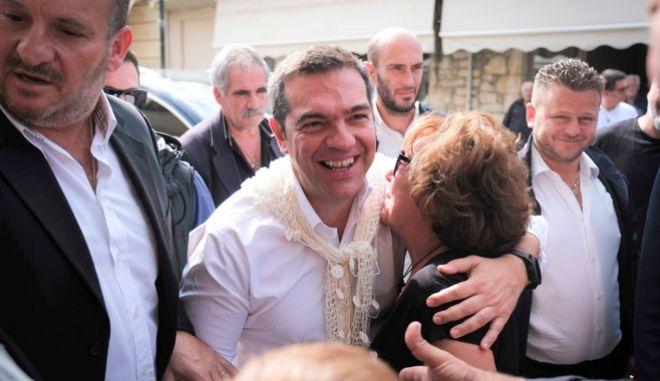 Δεύτερη ημέρα της περιοδείας του προέδρου του ΣΥΡΙΖΑ, Αλέξη Τσίπρα στην Κρήτη.