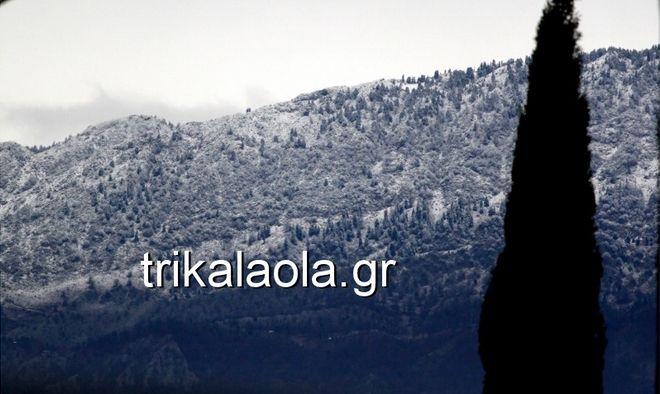 Στα λευκά η χώρα: Τα πρώτα χιόνια έπεσαν σε Μακεδονία, Θεσσαλία και Κρήτη