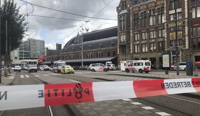 Η κυκλοφορία των τραμ με αφετηρία τον σταθμό διακόπηκε