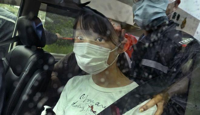 H ακτιβίστρια υπέρ της δημοκρατίας Άγκνες Τσόου