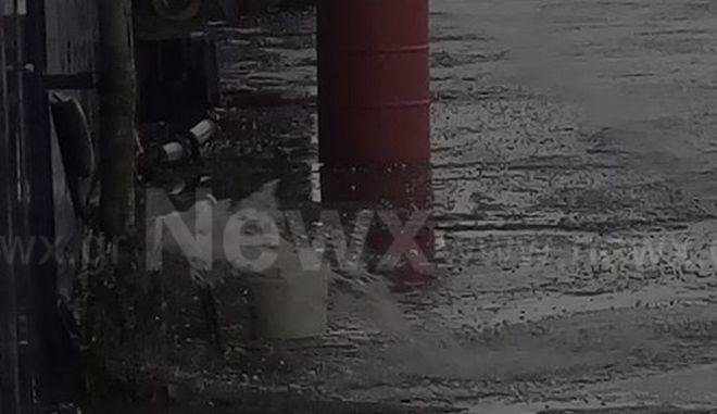Ξαφνικές καταιγίδες «χτύπησαν» και το νομό Θεσσαλονίκης