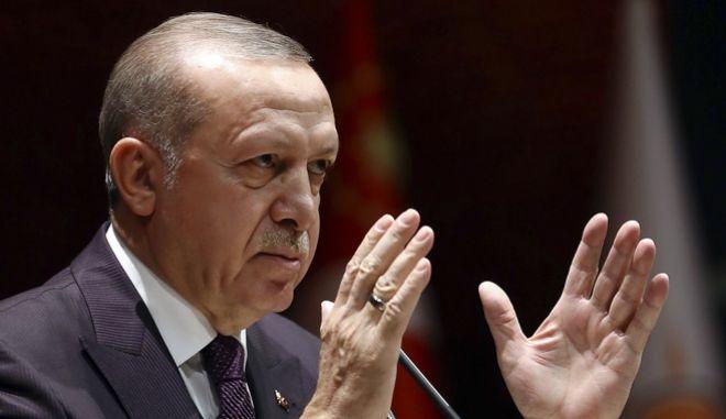 Ο Τούρκος πρόεδρος, Ρεζέπ Ταγίπ Ερντογάν