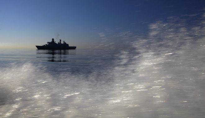 Πολεμικό πλοίο στα νερά της Κύπρου