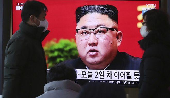 Ο ηγέτης της Βόρειας Κορέας Κιμ Γιονγκ Ουν