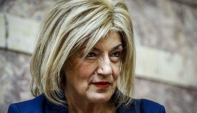 Η βουλευτής του ΣΥΡΙΖΑ Σία Αναγνωστοπούλου