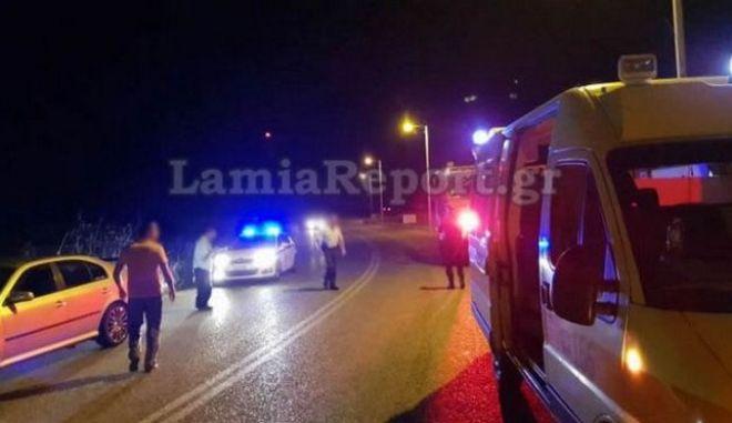 Φθιώτιδα: Καραμπόλα τριών αυτοκινήτων στην εθνική οδό - Ένας τραυματίας
