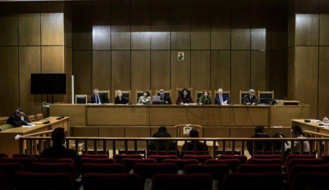 Ανακοίνωση της πρότασης από την Εισαγγελέα Α. Οικονόμου, στην δίκη της Χρυσής Αυγής, την Τετάρτη 18 Δεκεμβρίου 2019.