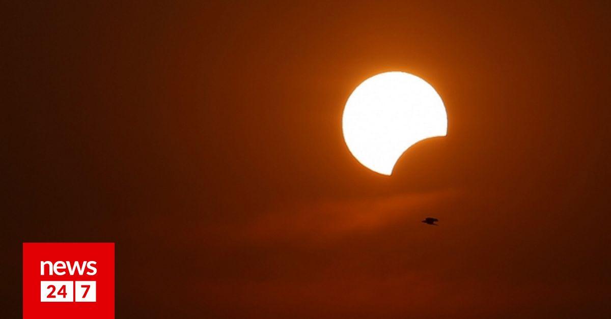 Αποτέλεσμα εικόνας για εκλειψη ηλιου 2019 ΜΕ ΧΙΟΝΙΑ