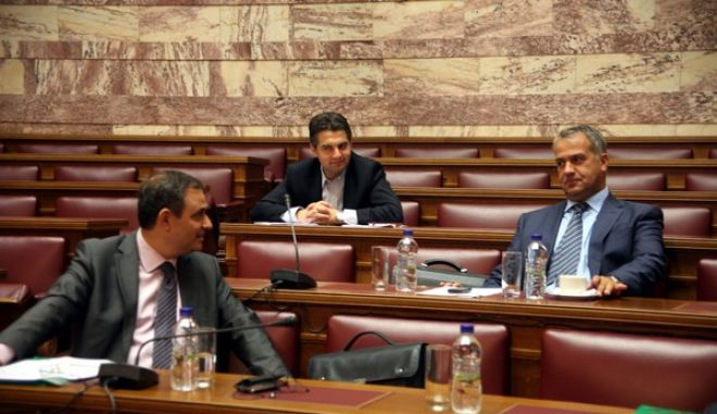 Συνεδρίαση της Επιτροπής Οικονομικών Υποθέσεων της Βουλής την Τετάρτη 10 Οκτωβρίου 2012. (EUROKINISSI)