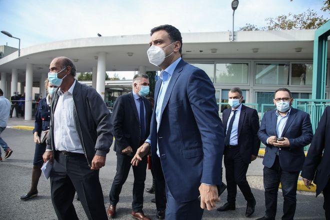 Επίσκεψη του υπουργού Υγείας Βασίλη Κικίλια στην Θεσσαλονίκη