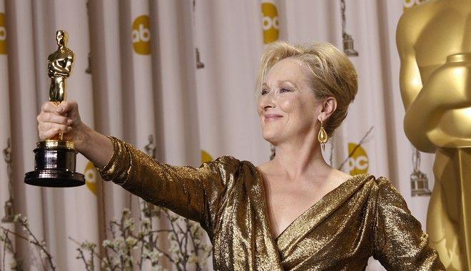 Το... χρυσό των Όσκαρ ταιριάζει απόλυτα στην Μέριλ Στριπ