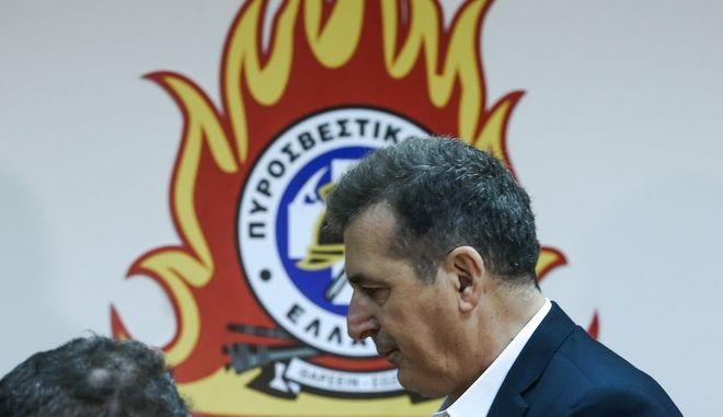 Υπουργός Προστασίας του Πολίτη Μιχάλης Χρυσοχοΐδης