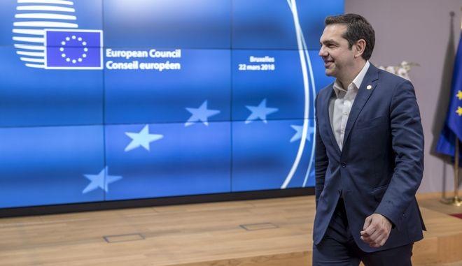 Ο Αλέξης Τσίπρας στη Σύνοδο του Ευρωπαϊκού Συμβουλίου