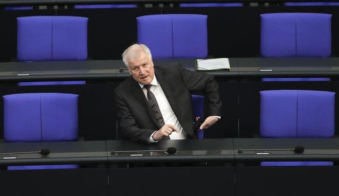 Ο γερμανός υπουργός Εσωτερικών Χορστ Ζεεχόφερ