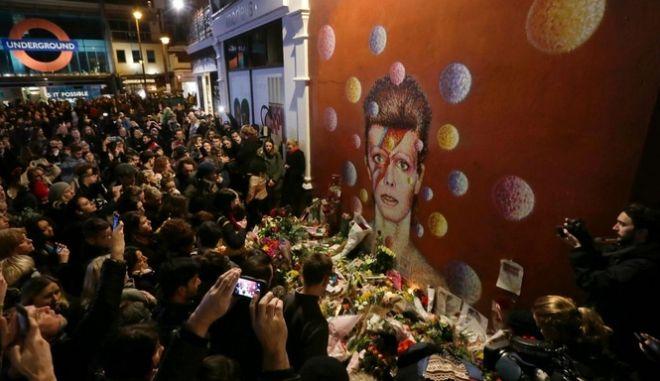Ο τελευταίος θάνατος του Bowie και ένα αντίο από τους θαυμαστές του