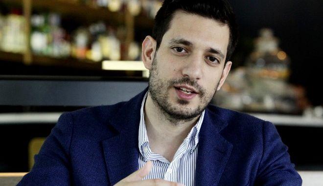 Ο υποψήφιος της ΝΔ στον Νότιο Τομέα των Αθηνών, Κώστας Κυρανάκης