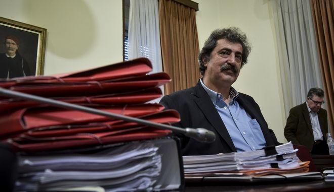 Συνεδρίαση της Εξεταστικής Επιτροπής για τη διερεύνηση σκανδάλων στον χώρο της Υγείας