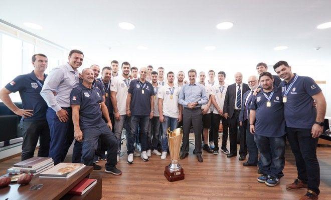 Κυριάκος Μητσοτάκης: 'Οι επιτυχίες στον αθλητισμό μας ενώνουν όλους'