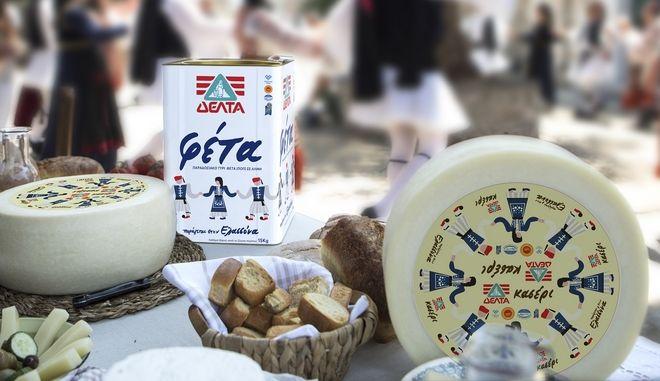 Νέα σειρά παραδοσιακών ελληνικών τυριών από την ΔΕΛΤΑ