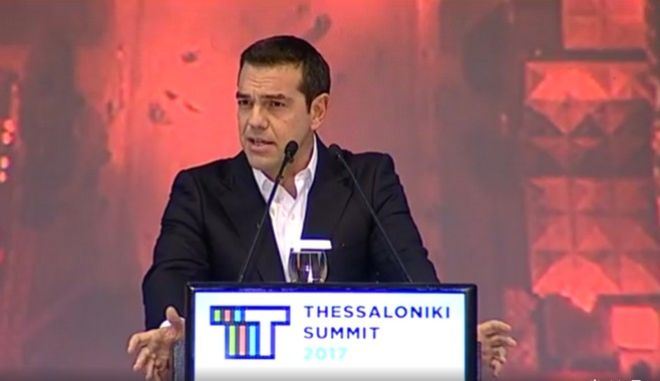 LIVE Εικόνα: Η ομιλία του πρωθυπουργού στον Σύνδεσμο Βιομηχάνων Βορείου Ελλάδος