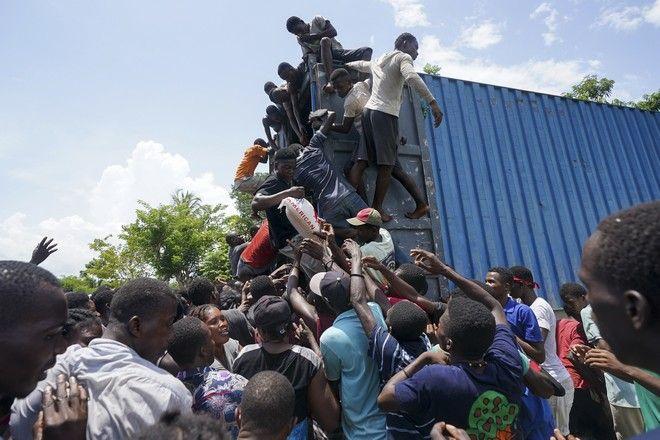 Θύματα του σεισμού στην Αϊτή