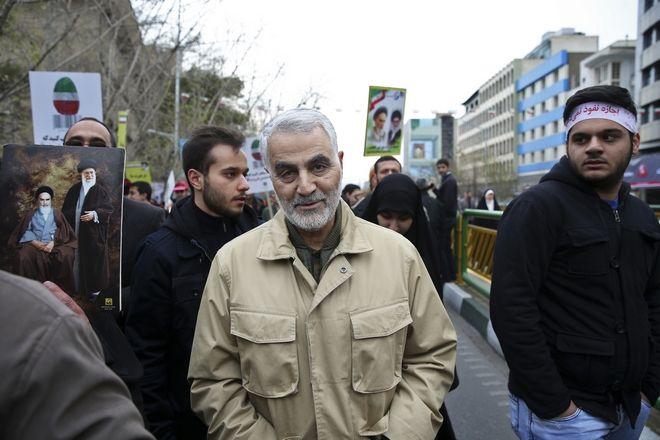 Ο Κασέμ Σουλεϊμανί