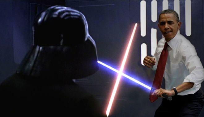 Ομπάμα: Παιδιά, συγνώμη, πρέπει να φύγω να πάω να δω το Star Wars