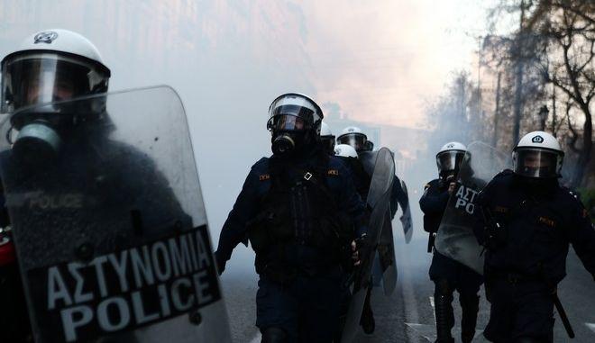 Επεισόδια στην Αθήνα - Φωτό αρχείου