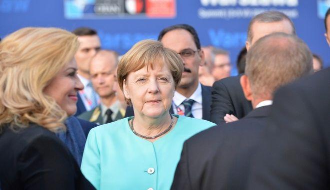 Chancellor of Germany, Angela Merkel (EUROKINISSI/ NIDS/NATO)