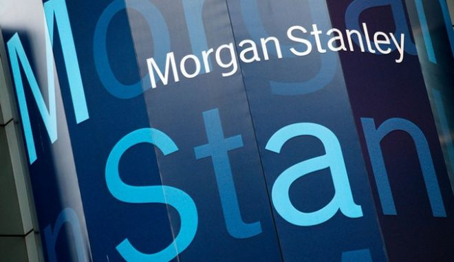 Το logo της Morgan Stalney
