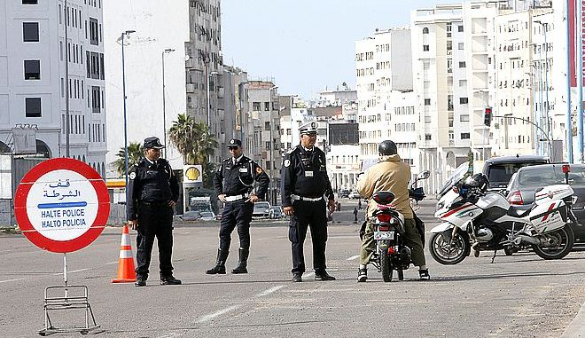 Αστυνομικός έλεγχος στο Μαρόκο