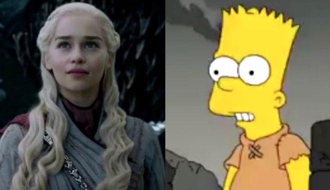 Game of Thrones: Και όμως, οι Simpsons είχαν προβλέψει τι θα έκανε η Νταινέρυς