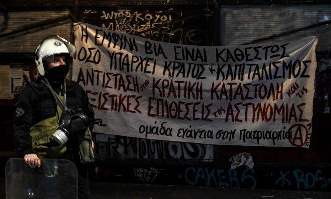 Επεισόδια στην Πάτρα για την επέτειο των 11 χρόνων από τη δολοφονία του Γρηγορόπουλου