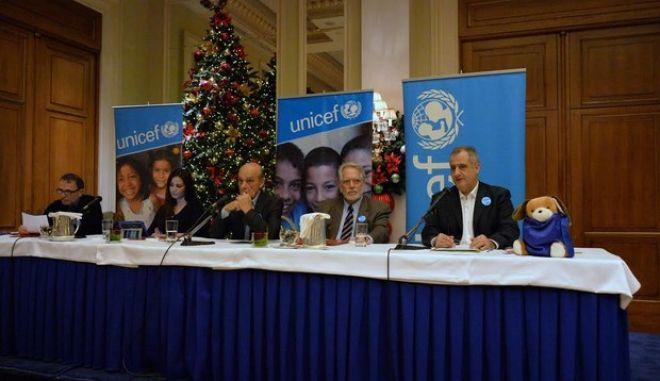 Τηλεμαραθώνιος Αγάπης UNICEF, τη Δευτέρα 8 Δεκεμβρίου