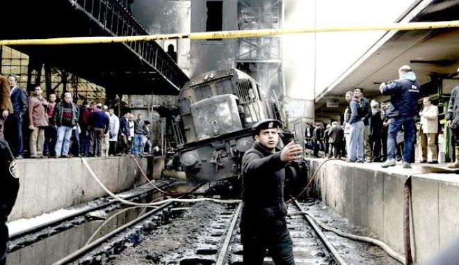 Φωτογραφία από το μοιραίο τρένο