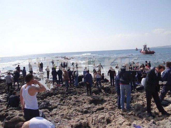 Τραγωδία στη Ρόδο: Ναυάγιο με 200 μετανάστες. Τουλάχιστον 3 νεκροί. Βίντεο-ντοκουμέντο
