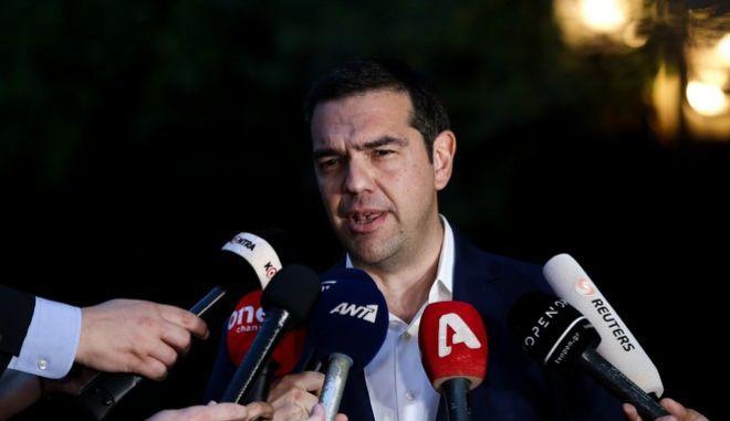 Δηλώσεις του πρωθυπουργού Αλέξη Τσίπρα μετά τη συνεδρίαση του ΚΥΣΕΑ