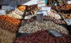 Κατάστημα ξηρών καρπών στη Βαρβάκειο