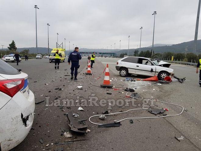 Καταδίωξη στην Εθνική Οδό Λαμίας - Αθηνών: Νεκρός ο οδηγός