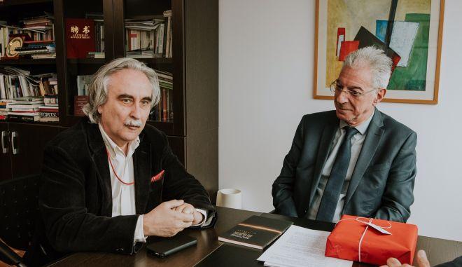 Ο υπουργός Παιδείας, Πρόδρομος Προδρόμου στο Ευρωπαϊκό Πανεπιστήμιο Κύπρου