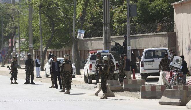 Αστυνομικές δυνάμεις στο Αφγανιστάν