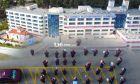 Λαμία: Συγκίνηση στο Γενικό Νοσοκομείο - Ξέσπασαν σε κλάματα ακούγοντας τον Εθνικό Ύμνο