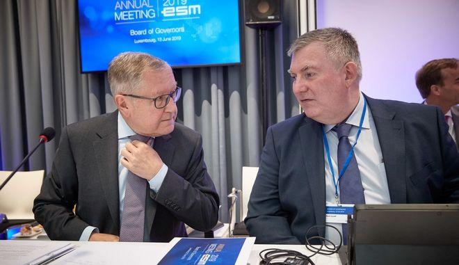 Στιγμιότυπο από την ετήσια συνάντηση του Διοικητικού Συμβουλίου του ESM