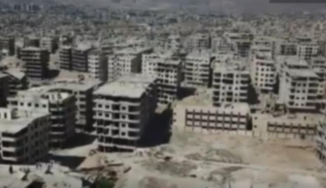 Πλάνα από Drone: Η καταστροφή στην Ανατολική Γούτα